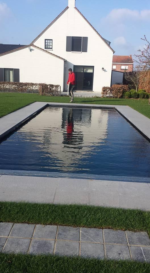aanleg zwembad aanleg zwembad londerzeel polder vdb tuinarchitectuur